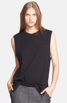 Alexander Wang Women's T Jersey Muscle Tank | Top and Clothing