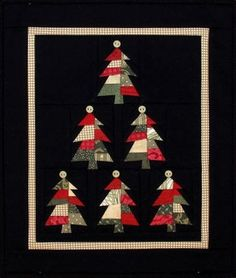 Jo Morton Quilt Patterns Free   ... pattern oh christmas tree mini wall hanging pattern designed by mary