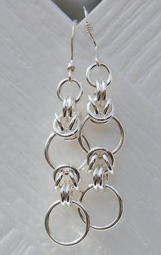 The Half Byzy Chainmaille Earring