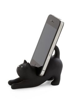 You've Gato a Call Phone Stand    http://www.modcloth.com/Apartment/Bookstore+Desktop/-Youve-Gato-a-Call-Phone-Stand