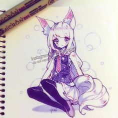 "By the time I remembered what I said yesterday about trying to draw something without purple and pink, it was already too late......(´・ω・`) nyeh. (BnS inspired character)  <a class=""pintag searchlink"" data-query=""%23copic"" data-type=""hashtag"" href=""/search/?q=%23copic&rs=hashtag"" rel=""nofollow"" title=""#copic search Pinterest"">#copic</a> <a class=""pintag searchlink"" data-query=""%23copicmarkers"" data-type=""hashtag"" href=""/search/?q=%23copicmarkers&rs=hashtag"" rel=""nofollow""…"