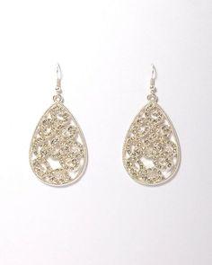 Any jewlery from charming charlies, or my seconf ear piercing        Filigree Teardrop Earrings | Earrings | charming charlie