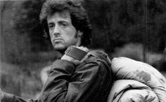 """Sylvester Stallone en """"Acorralado"""" (Rambo) (First Blood), 1982"""