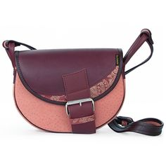 LEATHER SHOULDER BAG WOMEN FRESHMAN 511-3 via Vintage Leather Bags. Click on the image to see more!