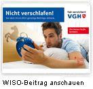 cc: VGH Kinospot als Intro bei ZDF Verbrauchermagazin WISO