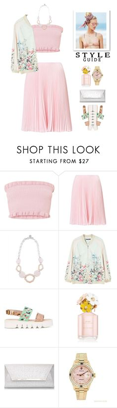 """""""Sweetystyle"""" by igeuwrwgghzu ❤ liked on Polyvore featuring Jaeger, MANGO, Leo Studio Design, Marc Jacobs, Dorothy Perkins, Rolex and Beach Riot"""