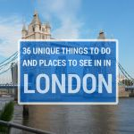 36 Unique Things To Do in London