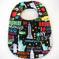 I Love NYC bib