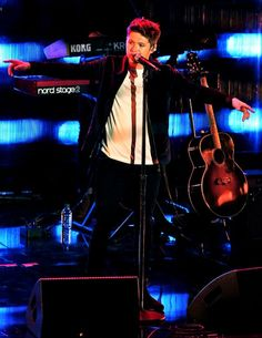 Niall performing at the Much Music Video Awards