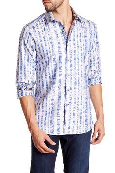 Image of Robert Graham Salt River Long Sleeve Shirt
