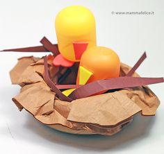 How to create using the plastic egg inside Ferrero Kinder Egg.