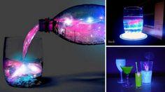 Préparer des boissons aux couleurs fluorescentes • Quebec echantillons gratuits