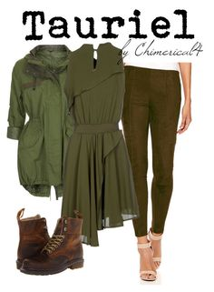 """Tauriel"" by chimerical4 on Polyvore featuring Worthington, Topshop, No-Nà, Dr. Martens and modern"