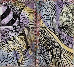 By molossus, who says Life Imitates Doodles  Sandra Strait