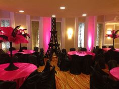 Paris themed sweet 16 by Chloe Cook Events