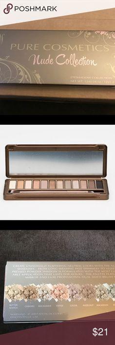 Pure cosmetics nude collection New unopened Makeup Eyeshadow