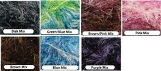 1 skein of Eyelash Fur yarn. Choose your color from by JeAdore