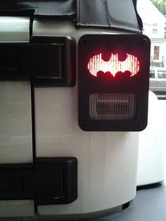Paw Print Jeep Wrangler Jk Tail Light Guards By Dnajeep