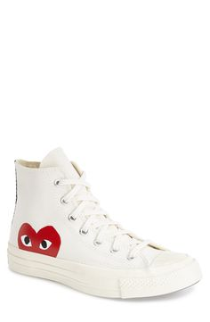 d608164bc00b Comme des Garçons PLAY x Converse Chuck Taylor® Hidden Heart High Top  Sneaker (Men)