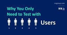 Elaborate usability tests are a waste of resources. The best results come from testing no more than 5 users and running as many small tests as you can afford.