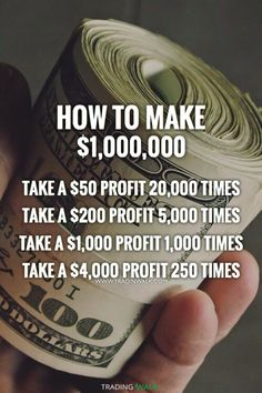How to become a millionaire... You learn to trade and take profits, it doesn't matter if you trade Forex, Stocks, Bitcoin, Penny Stocks, Cryptocurrencies or Commodities as long as you master a strategy and stay disciplined. Want a free trading strategy? Click to download our free winning strategy guide.