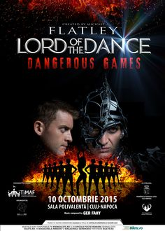 Cel mai apreciat spectacol de dans de pe mapamond – Lord of the Dance – ajunge pe 10 octombrie 2015 … Lord Of The Dance, Dangerous Games, Concert, Music, Movie Posters, Musica, Musik, Film Poster, Concerts