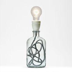 Black & White Lamp on Etsy, $91.15