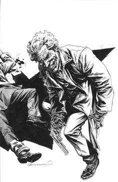 Lee Bermejo - The Joker Comic Art