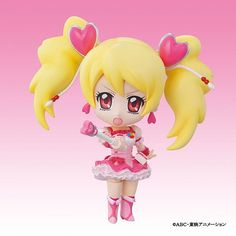 While I didn't care for Fresh Precure, Cure Peach is a very cute character design. #freshprecure