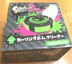 Neon Purple Version Taito Splatoon 2 Curling Bomb Cleaner