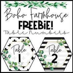 Transform your classroom to be a home away from home with this on-trend Boho Farmhouse Hexagon Table Numbers 1-10 FREEBIE! Check out the full bundle HERE! Boho Farmhouse Classroom Decor BundleThe product comes with the following:Hexagon Table Numbers 1-10 ( 6 designs and 60 pages)Please be sure to ...