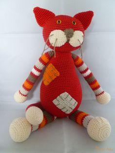 Anne's Crochet Palace: Cat Thea