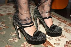 Rodarte leggings, Miu Miu shoes, preeeeeetma