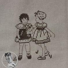 Martine Leonard Au Fil De L'Ange ''Les amies de Clémence'' (petites filles de 1936)