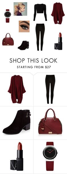 """Untitled #67"" by k-meryem ❤ liked on Polyvore featuring Cushnie Et Ochs, River Island, Carvela Kurt Geiger, NARS Cosmetics, women's clothing, women's fashion, women, female, woman and misses"