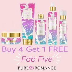 Bath n Body Products! Kiss, Body Silk, body dew oil, Skinny Dip and coochy Shave Cream. www.TheSuperFunPartyMom.com