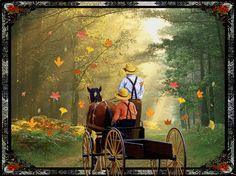 Centerblog.net good morning fall gifs | Good Morning~Willow & Friends
