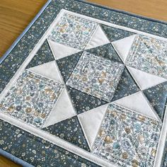Quilted Table Topper, 19