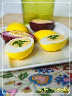 Jadło i czytadło: Jajka marynowane w kurkumie