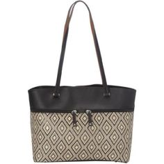 Tignanello Diamond Straw Tote This is a Tignanello Straw tote with a diamond pattern. It is gently used. The only wear on the purse is on the top of the handles where it rests on your shoulder. Other than that this is a great purse and perfect for everyday use! Tignanello Bags Totes