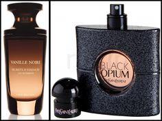 YSL Black Opium EDP ~ Yves Rocher Vanille Noire EDP