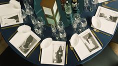 The table settings for tonight's CFDA Awards dinner will be entirely reusable and recyclable.