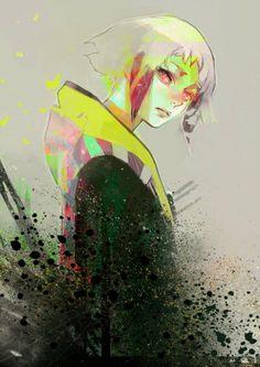 Tokyo Ghoul by Ishida Sui Kaneki, Anime Guys, Manga Anime, Anime Art, Itori Tokyo Ghoul, Fan Art, Image Manga, Illustrations, Cool Art