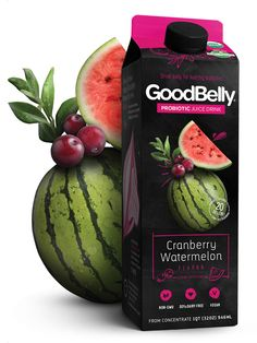 GoodBelly Cranberry Watermelon Drink