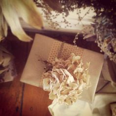Delicate wrapping   via. PJB_christmaspresents2012_3