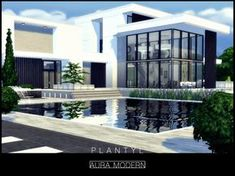 Built in Willow Creek at the Oakenstead which is a lot. Found in TSR Category 'Sims 4 Residential Lots' Lotes The Sims 4, Sims New, Sims 4 Modern House, Sims 4 House Design, Sims 4 Loft, Sims 4 House Building, Casas The Sims 4, Sims 4 Build, Outdoor Retreat
