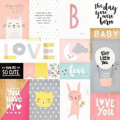 print & pattern: SCRAPBOOK - crate paper : little you
