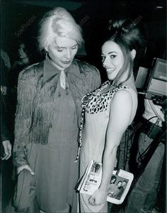 Debbie Harry and Lady Miss Kier, from Dee Lite!