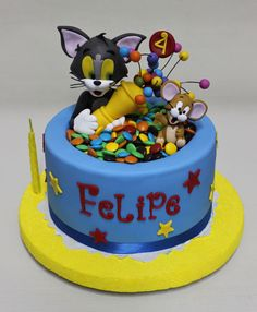 Tom y Jerry Cake ! Violeta Glace