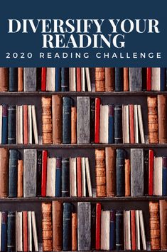 2020 will be the second year of the Diversify Your Reading Challenge, and I have no doubt it'll be the best one yet! This 2020 Reading Challenge is open to… Reading Motivation, Reading Goals, Reading Lists, Book Lists, Book Club Books, New Books, Good Books, Books To Read, Book Challenge